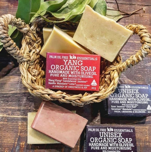 Organic Soap Bars - Kiss