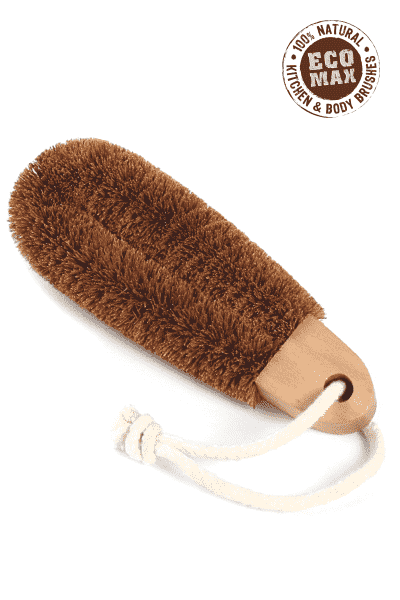 Foot Brush (Hard Bristle) - Eco Max - Earth to Life