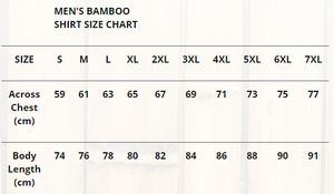Shirt Bamboo Mens - Feather