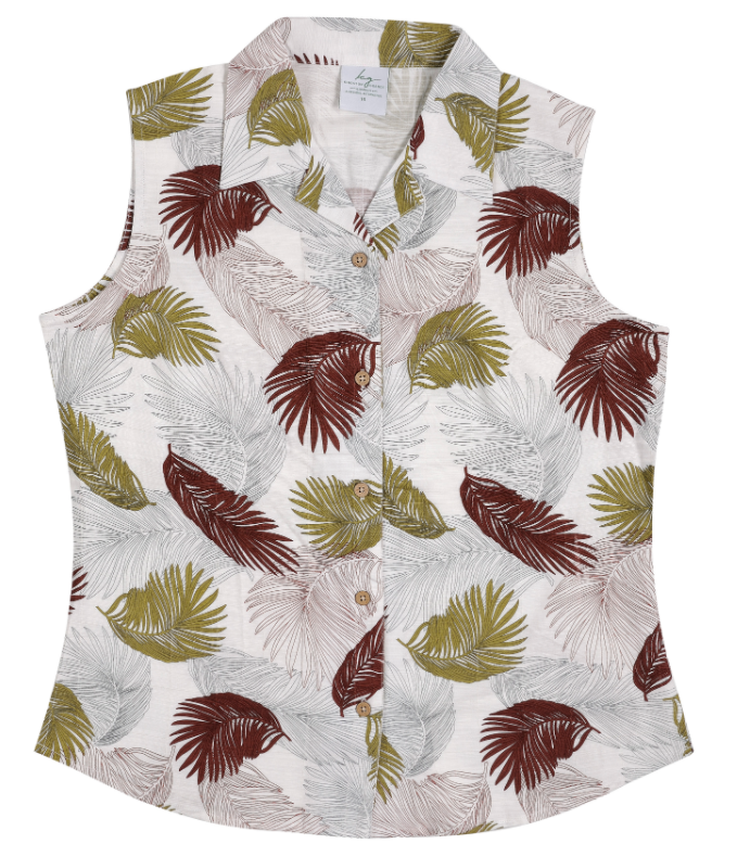 Shirt Bamboo Sleeveless Urban Jungle