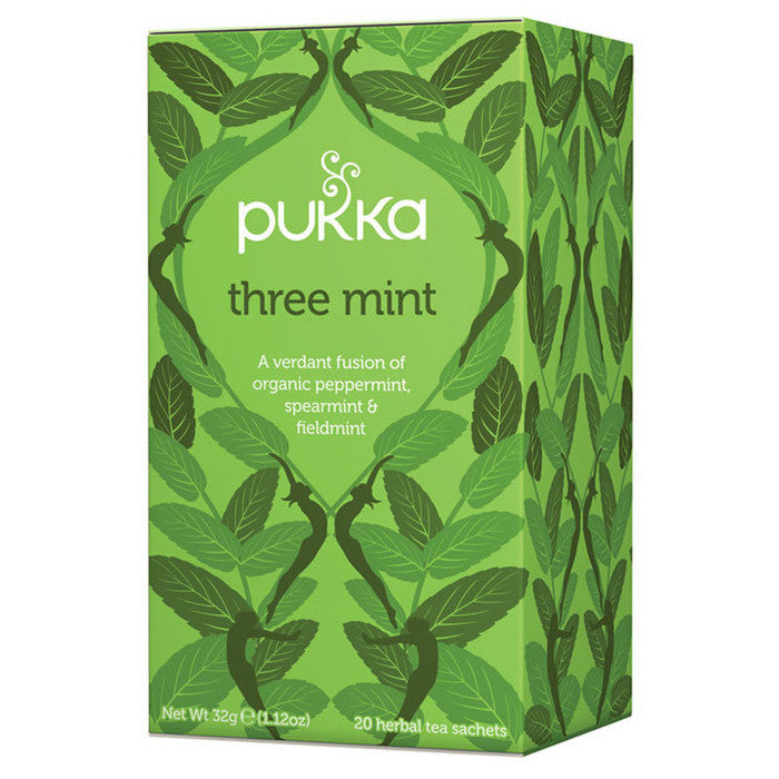 Tea Pukka -Three Mint
