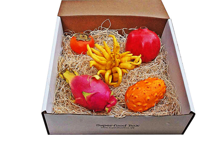 Raw Energy Exotic Fruit Box