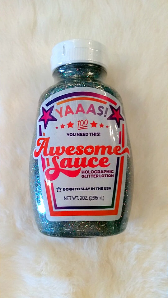 Awesome Sauce Holographic Glitter Lotion