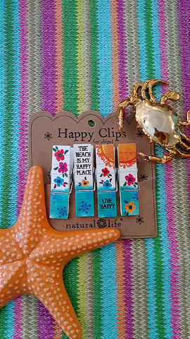 Happy Place Chip Clips