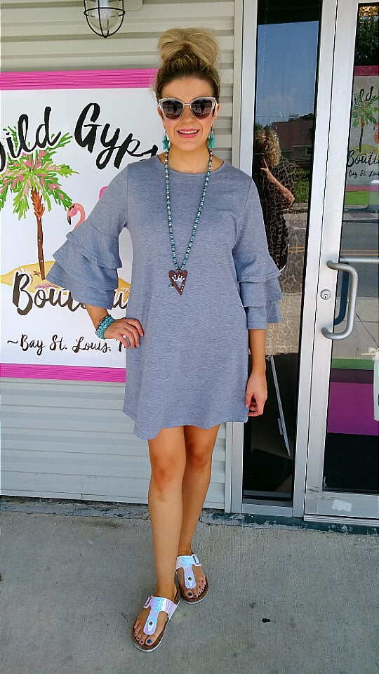 Heather Grey Winston Dress