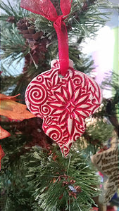 Tab Boren Mexico Red Ornament