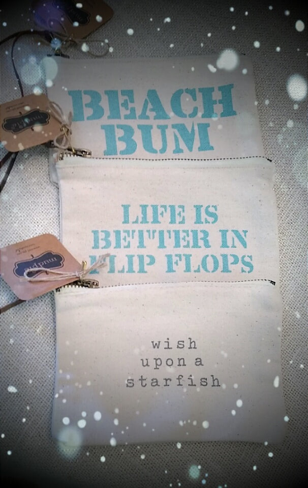 Beach Vibes Pouches