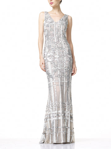 SELINA Dress- Silver