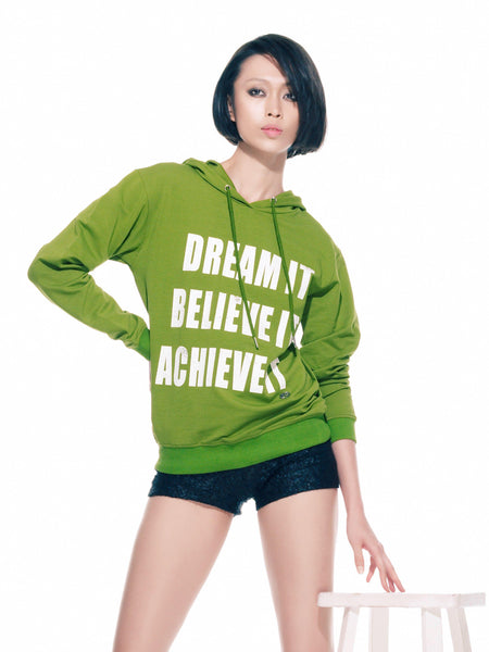 FK By Farah Khan. Dream It, Believe It, Achieve It Sweatshirt