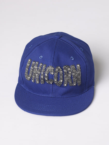 "FK ""Unicorn"" Hand Embellished Message Cap"