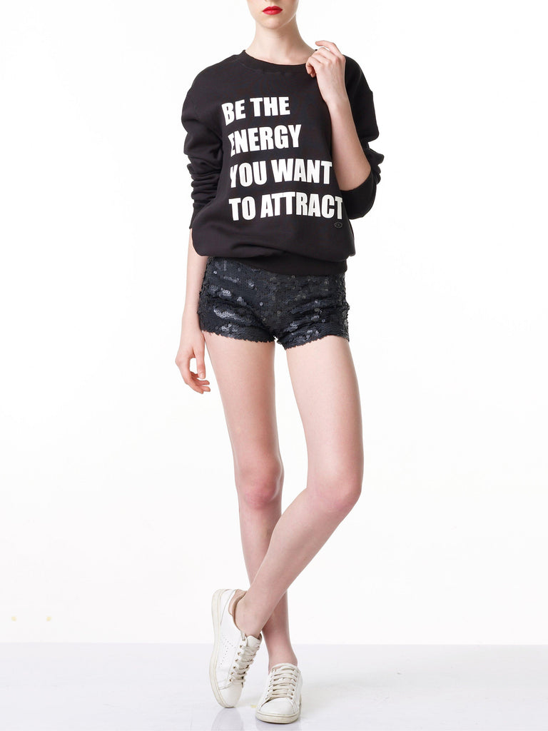FK By Farah Khan. Be The Energy You Want To Attract Sweatshirt