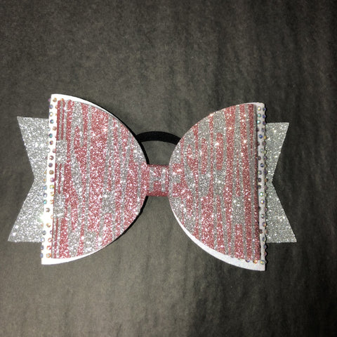 Rose Gold/Silver #SLAYTHESPRAY Bow