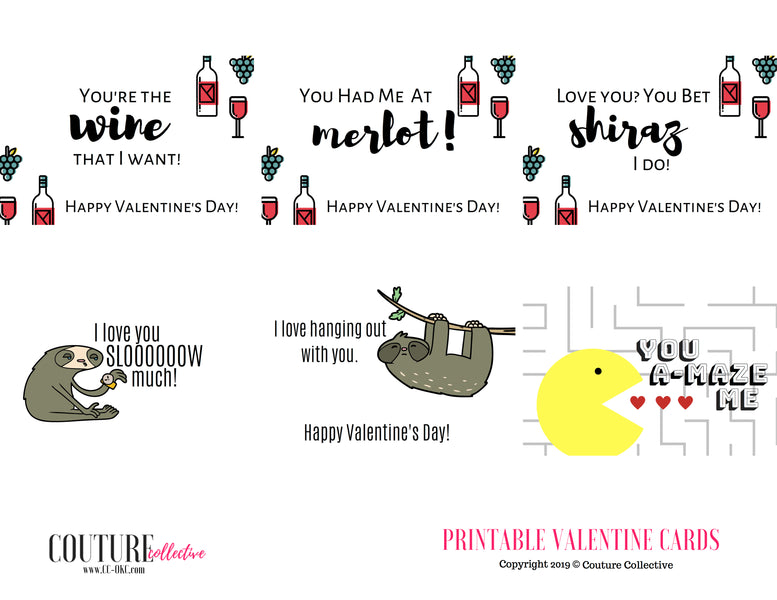 Valentine's Gift Guide:Free Printables