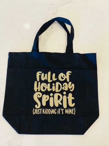 Full of Holiday Spirit Tote