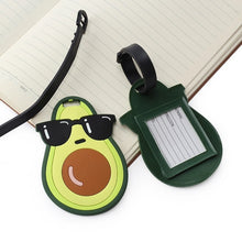 Load image into Gallery viewer, Avocado Luggage Tag