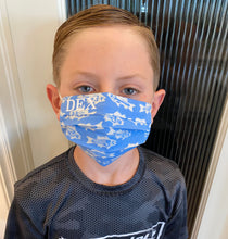 Load image into Gallery viewer, Customized Caution, Kids Face Mask