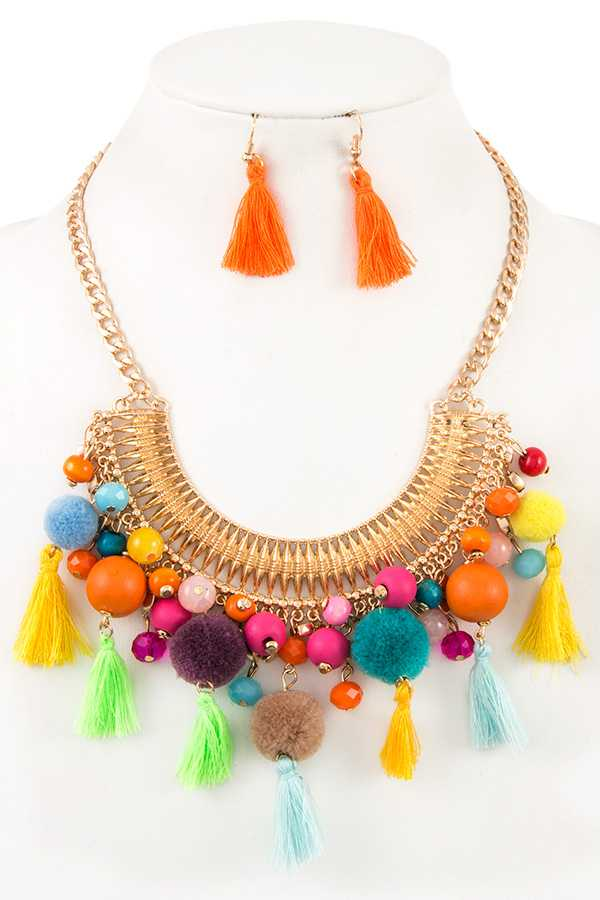 Fun-Believable Necklace Set