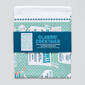 Cocktail Time, Tea Towel