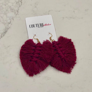Grande Fringe Earrings