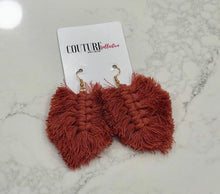 Load image into Gallery viewer, Grande Fringe Earrings