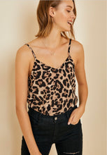 Load image into Gallery viewer, Lucky Leopard Cami