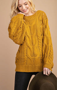 Kathy Cable-Knit