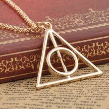 Load image into Gallery viewer, Deathly Hallows Necklace