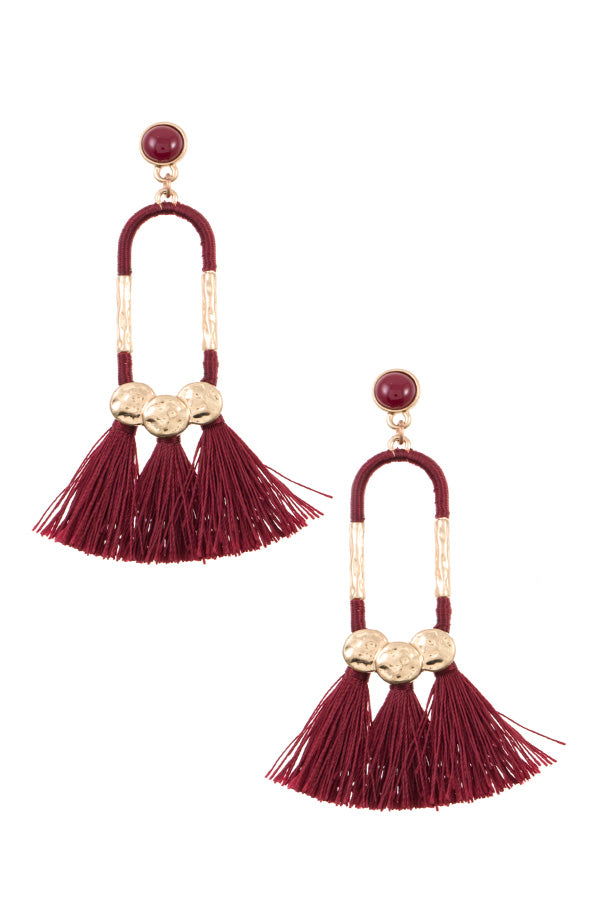 Tassel Drop Earrings