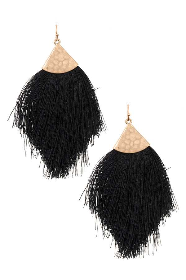 Fringe Oversized Earrings