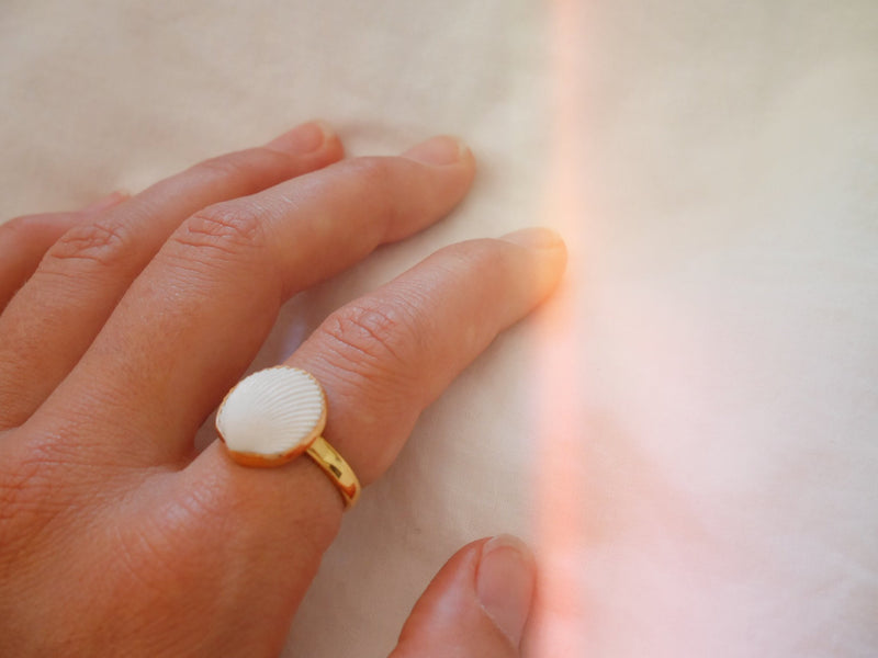 Summer Haze Ring 18K Gold Plated