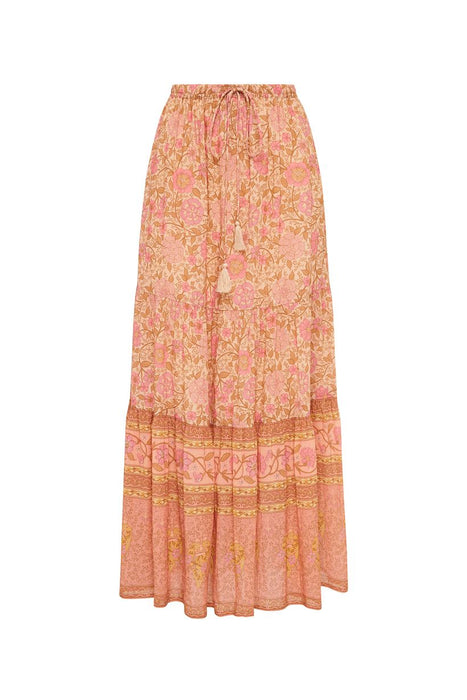 Love Story Maxi Skirt - Peach Blossom