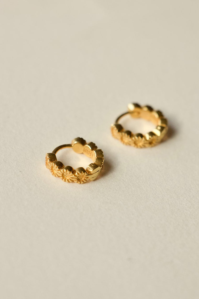 925 ROW SLEEPER EARRINGS