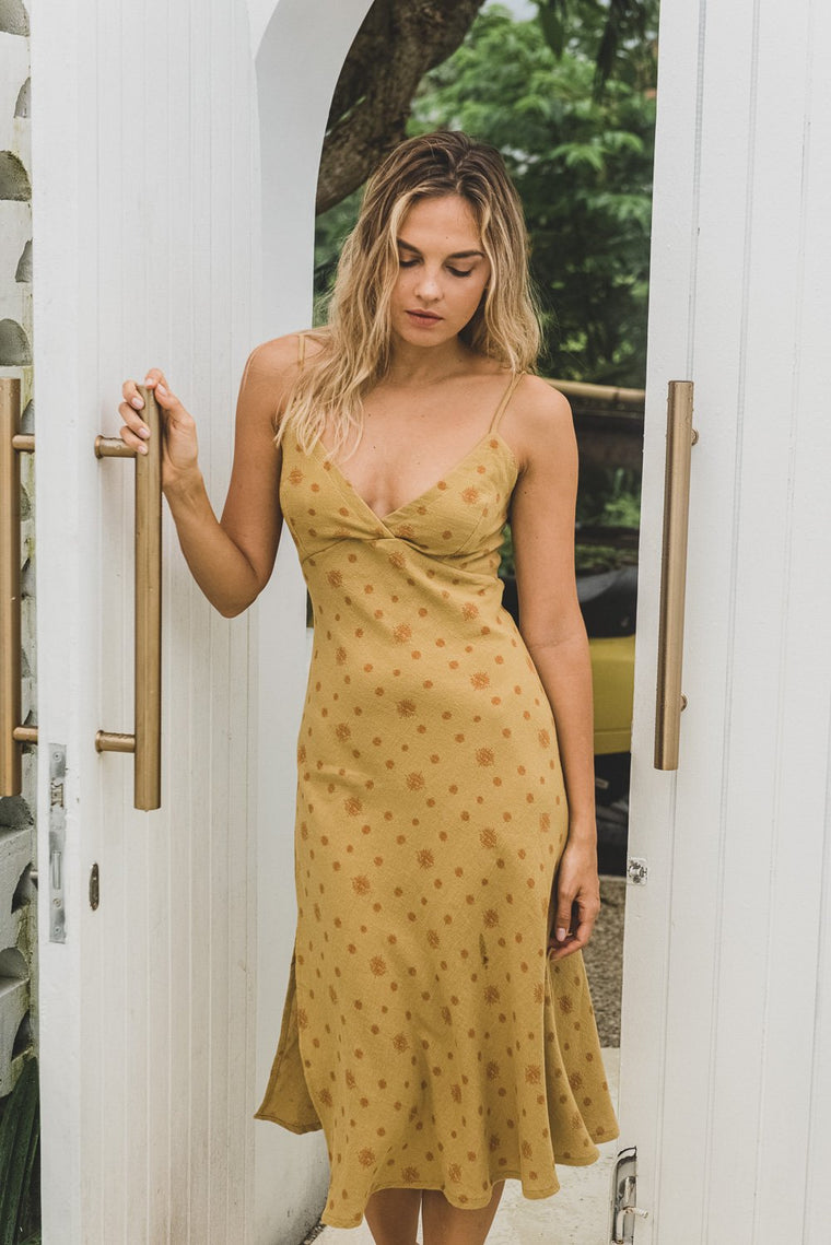 HONEY SLIP DRESS NIRVANA