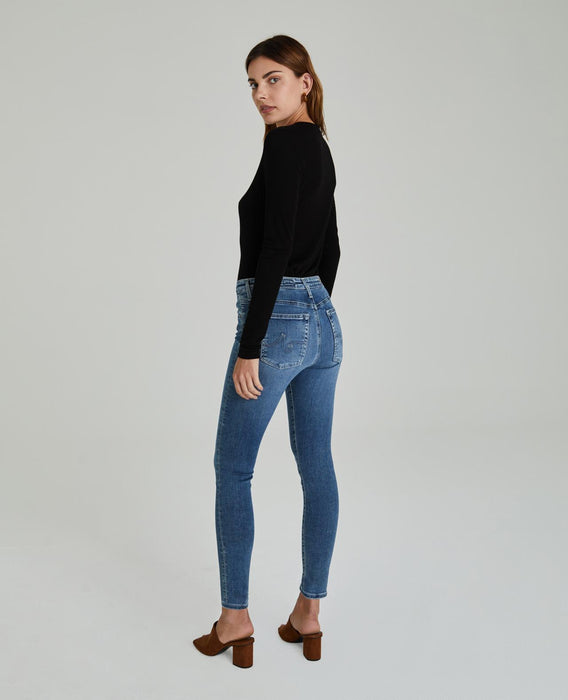 THE FARRAH SKINNY ANKLE - MASTIC
