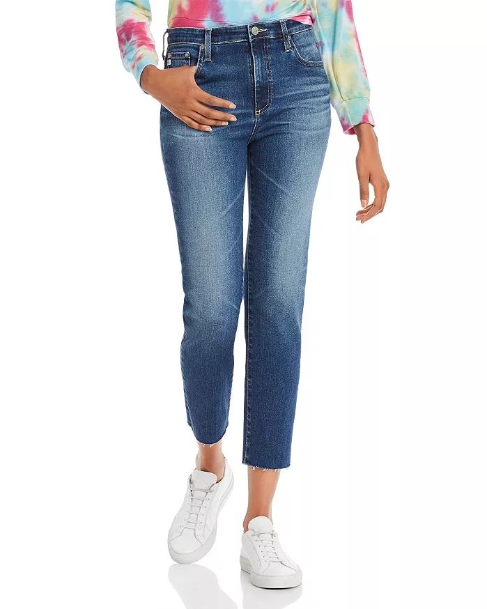 Isabelle Straight-Leg Ankle Jeans in 15 Years Perpetual