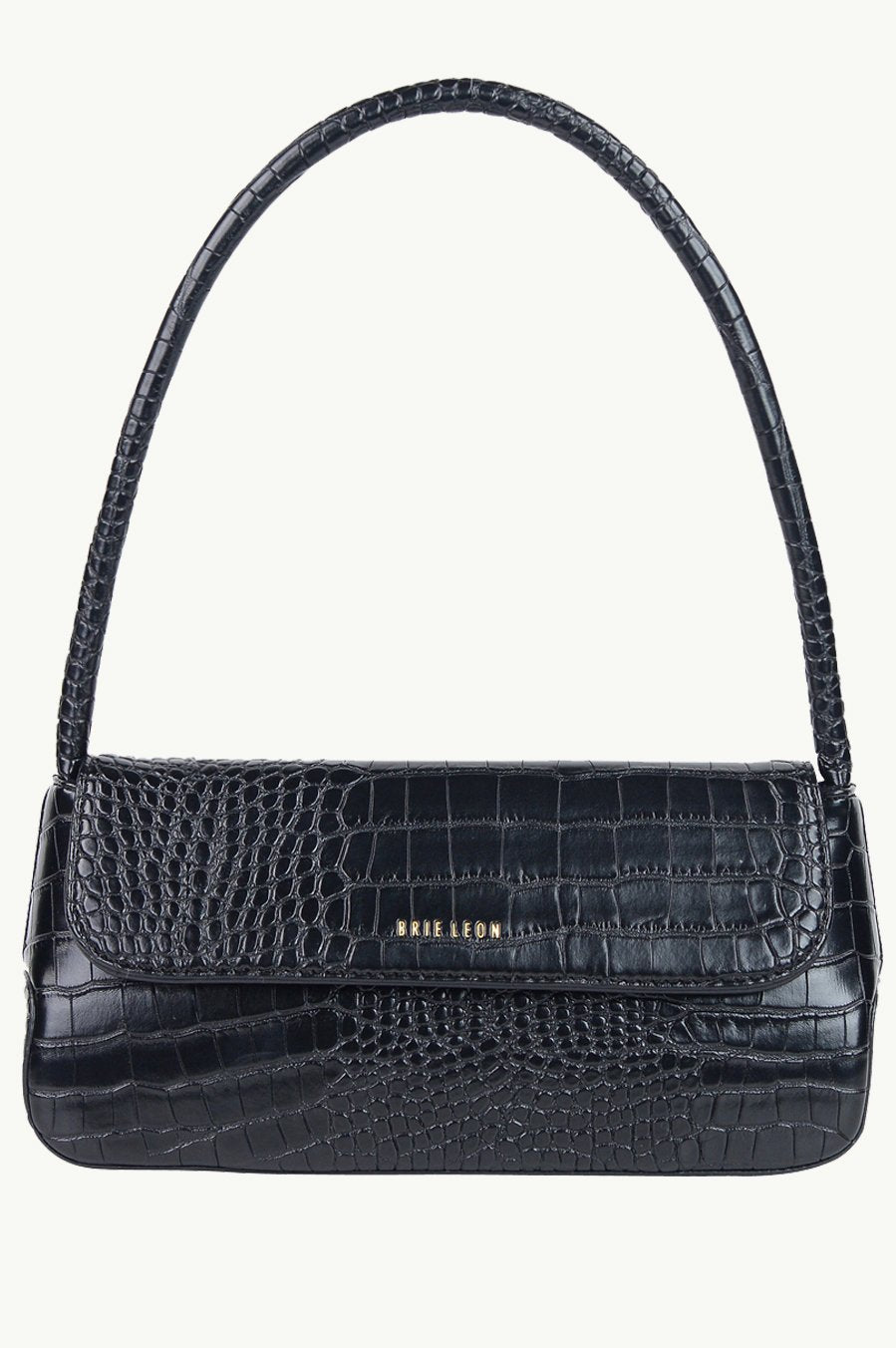 THE CAMILLE BAG ( Black Matte Croc)
