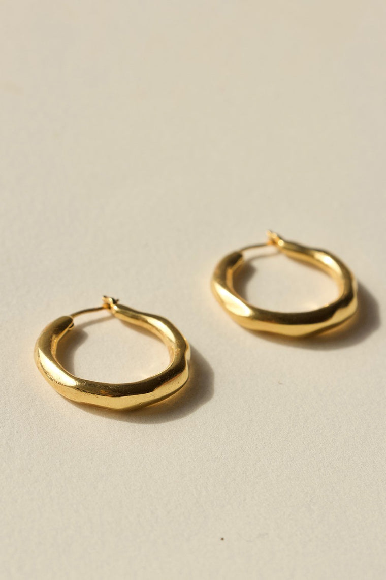 ORGANICA HOOP EARRINGS SMALL