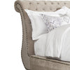 CLAIRE - KHAKI Upholstered Bed Collection