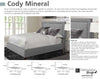 CODY - MINERAL Cody Mineral (Grey) King Bed 6/6