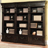 GRAND MANOR PALAZZO 3 piece Museum Bookcase (9030 and 2-9031)