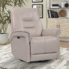CARNEGIE - VERONA LINEN Power Cordless Swivel Glider Recliner