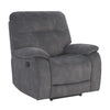 COOPER - SHADOW GREY Manual Glider Recliner
