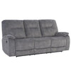 COOPER - SHADOW GREY Manual Triple Reclining Sofa