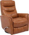 Gemini Butterscotch Manual Swivel Glider Recliner