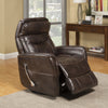 Gemini Truffle Manual Swivel Glider Recliner