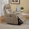 GEMINI - LINEN Power Swivel Glider Recliner