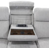 ORPHEUS - BISQUE Power Drop Down Console Sofa