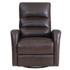 RINGO - FLORENCE BROWN Power Swivel Glider Recliner
