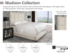 Madison Pearl California King Bed 6/0