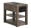 RIVER ROCK - SILTSTONE Chairside Table